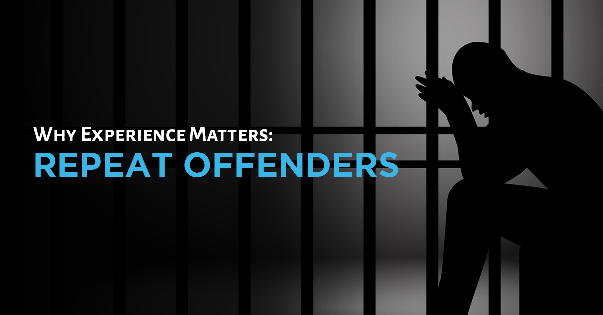 Why Experience Matters: Repeat Offenders